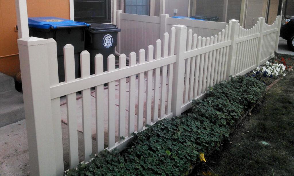 Big D's Fencing & Pole Barns installed a vinyl fence in Cheyenne, WY